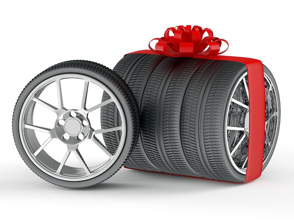 Открытка колесо