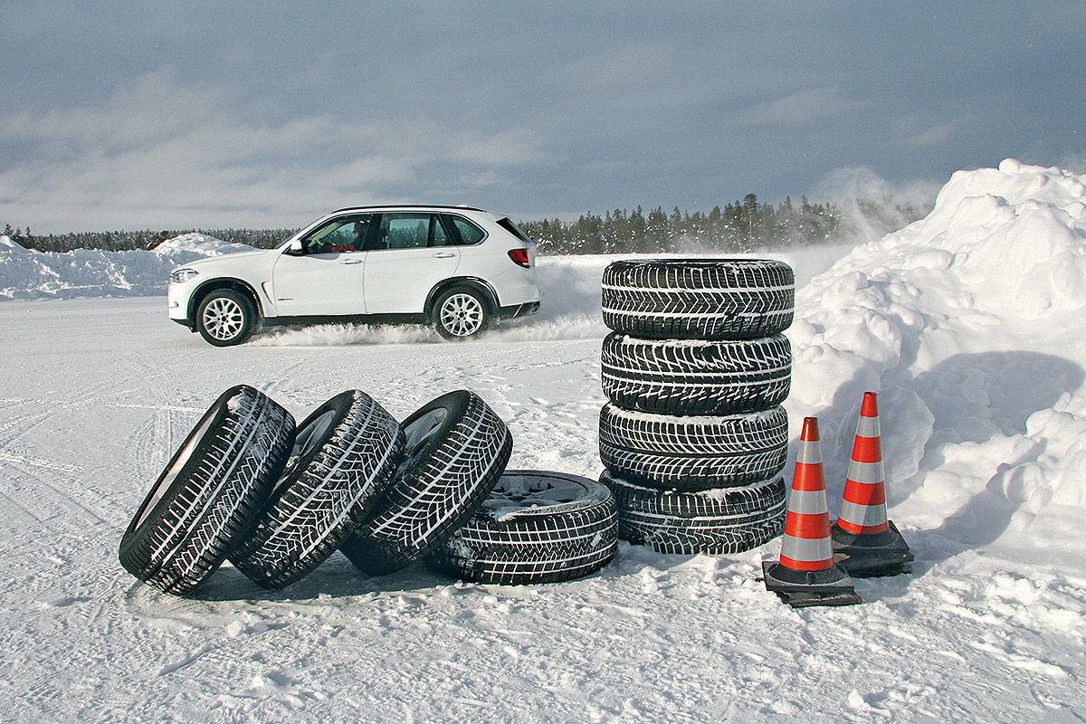 Тест на снегу
