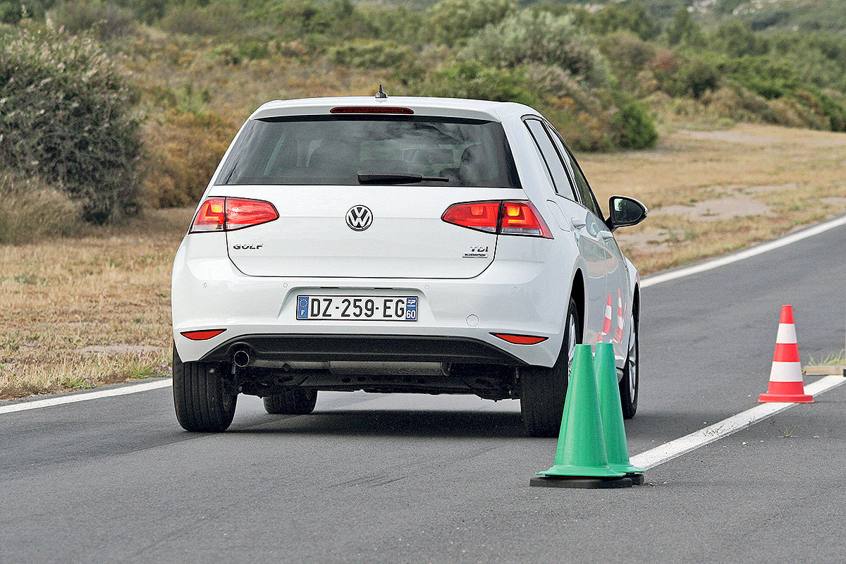 Тест на сухой дороге