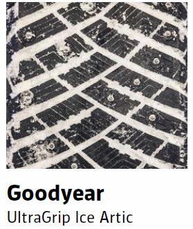 Goodyear UltraGrip Ice Artic