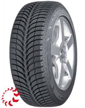 шина GOODYEAR Ultra Grip Ice+  185/65 R15 88T. Зима.