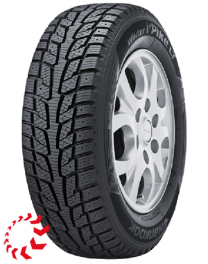 шина HANKOOK Winter i*Pike LT RW09  195/70 R15 104/102R Cargo. Зима.