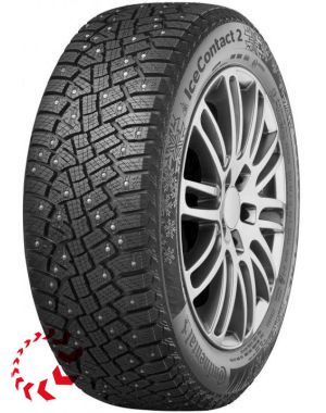 шина CONTINENTAL ContiIceContact 2  215/55 R17 98T XL. Зима.
