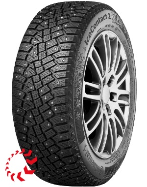 шина CONTINENTAL ContiIceContact 2 SUV KD  225/60 R17 99T RunFlat. Зима.