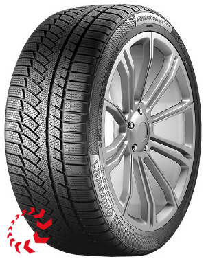 шина CONTINENTAL ContiWinterContact TS850 P  225/45 R18 95H RunFlat. Зима.