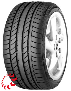 шина Continental Sport Contact  245/40 R18 93Y. Лето.