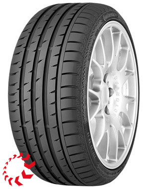 шина Continental Sport Contact 3  245/40 R18 97Y XL. Лето.