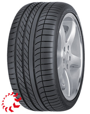 шина GOODYEAR Eagle F1 Asymmetric  245/45 R17 99Y RunFlat XL. Лето.