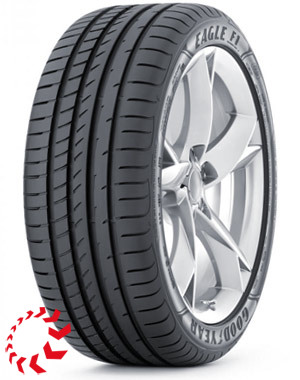шина GOODYEAR Eagle F1 Asymmetric 2  245/40 R17 91Y. Лето.