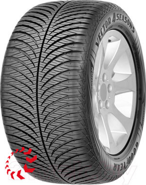 шина GOODYEAR Vector 4Seasons Gen-2  175/70 R14 84T. Лето.