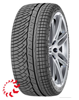 шина MICHELIN Pilot Alpin 4  245/50 R18 104V. Зима.