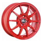 4GO Carbon 5007 red