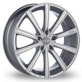 OZ Racing LOUNGE 10 Metal Silver DiamondCut