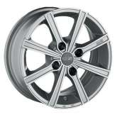 OZ Racing LOUNGE 8 Metal Silver