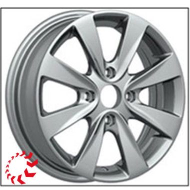 Диск Magnetto Hyundai Solaris 15003S AM 6xR15 4x100 мм ET48 Silver
